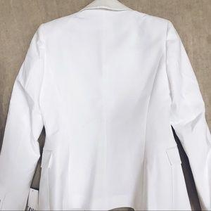 Zara Jackets & Coats - Zara white tuxedo jacket, size small, NWT